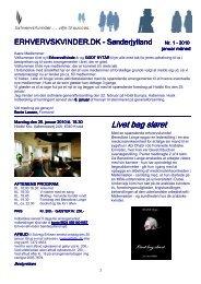 Erhvervskvindenyt nr. 1 -2010
