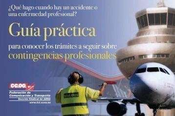 Actuación ante Contingencias Profesionales - Federación de ...