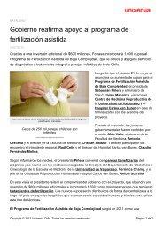 Gobierno reafirma apoyo al programa de fertilización asistida