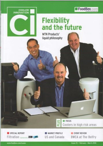 Cooler Innovation - Feb/Mar 2010 - ENG - Siapi