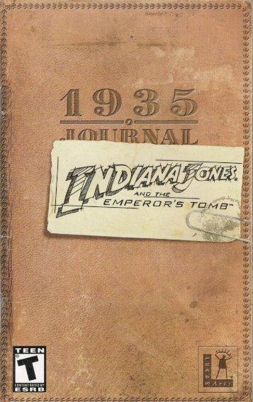 Indiana Jones & The Emperor's Tomb [English].pdf - Roms4Droid