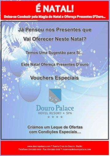 Este Natal Ofereça Presentes D'ouro - DOURO PALACE | Hotel ...
