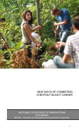 NEW WAYS OF COMBATING CHESTNUT BLIGHT CANKER