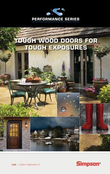 tough wood doors for tough exposures - Huttig Building Products