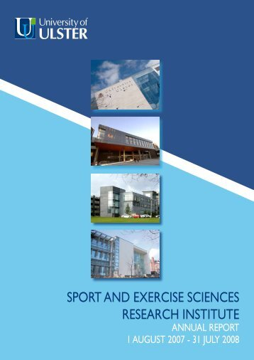 SPORT AND EXERCISE SCIENCES RESEARCH INSTITUTE