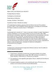 Edital 01/2012 De 03/02/2012 até 18/02/2012 Fundação Maurício ...