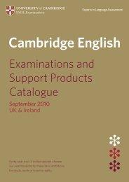 Download - University of Cambridge - ESOL Examinations