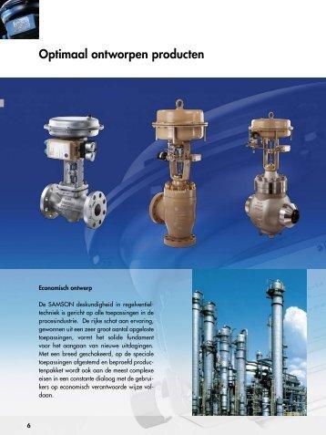 Optimaal ontworpen producten (pdf) - Samson Regeltechniek