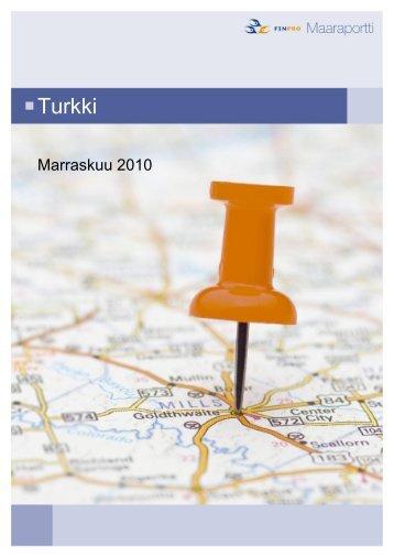 Turkki - Finpro