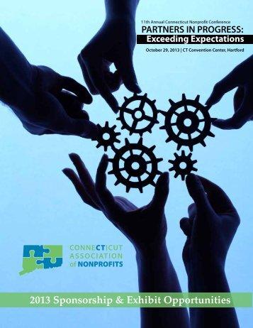 sponsorship opportunities - Connecticut Association of Nonprofits