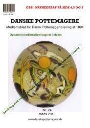 2010 - Medlemsblad nr. 24 - Pottemagere   Keramiker