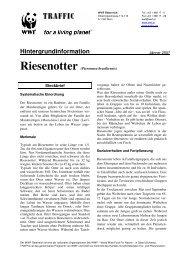 Hintergrundinformation - WWF Österreich