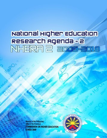 national higher education research agenda - 2 (2009-2018)