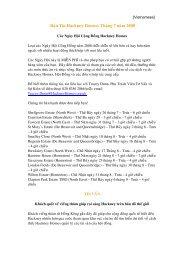 Baûn Tin Hackney Homes: Thaùng 7 naêm 2008