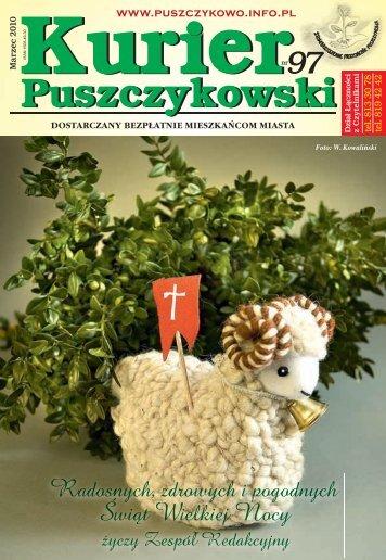 Kurier 97-fonty.indd - Stowarzyszenie Przyjaciół Puszczykowa