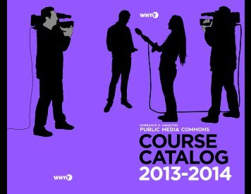 Full course catalog (PDF) - WHYY