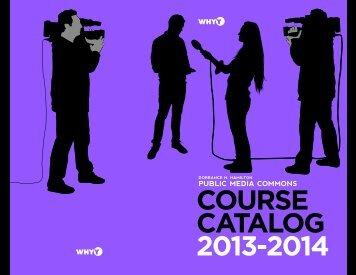 Full course catalog (PDF) - WHYY