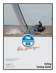 Soling Tuning Guide - North Sails - One Design