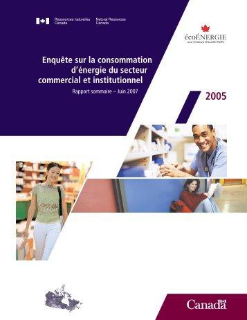 Version PDF - OEE - Ressources naturelles Canada