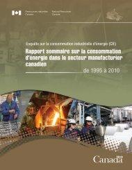 Su Ca Rapport sommaire sur la consommation d'énergie dans le ...