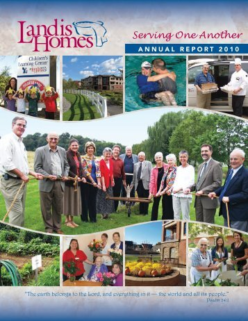 Annual Report 2010 - Landis Homes