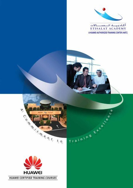 HUAWEI CERTIFIED TRAINING COURSES - Etisalat Academy
