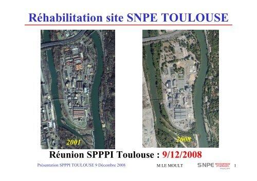 Réhabilitation Site SNPE TOULOUSE