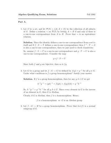 a hungerford s algebra solutions manual james wilson i ii iii cmm rh yumpu com Abstract Algebra Help Abstract Algebra For Dummies