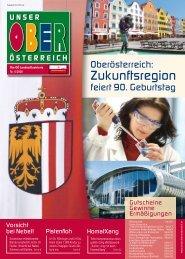 Unser Oberösterreich - Die Oö. Landesillustrierte Nr. 6/2008