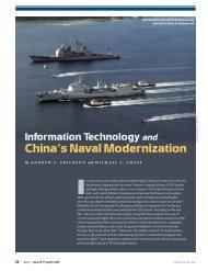 Information Technology and China's Naval Modernization