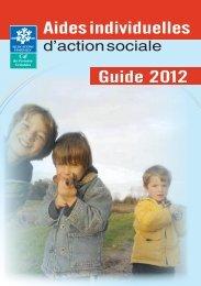 Aides individuelles Guide 2012 - Caf.fr