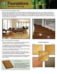 bamboo flooring brochure.indd - Green Depot