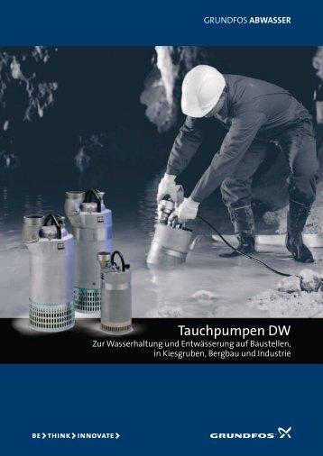 Tauchpumpen DW - Grundfos