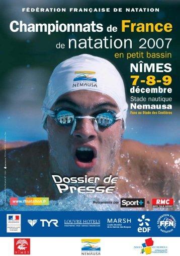 Copie de RECORDS 25 M (5) - Fédération Française de Natation
