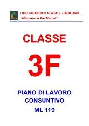3F - Liceo Artistico Statale di Bergamo