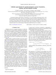 Adiabatic approximation for quantum dissipative systems - APS Link ...