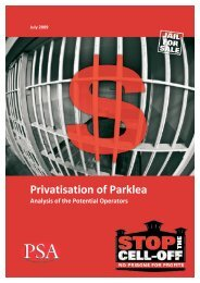 Private Prisons – Company Profiles - Stop the cell-off