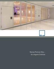Glas-Broschüre - Nüsing