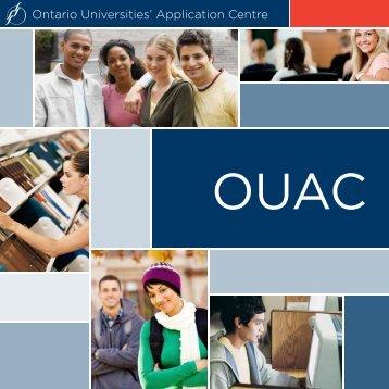 brochure [PDF] - Ontario Universities' Application Centre