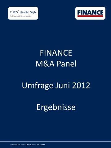 FINANCE Ihr Zugang zu Top-Finanzentscheidern - Finance Magazin