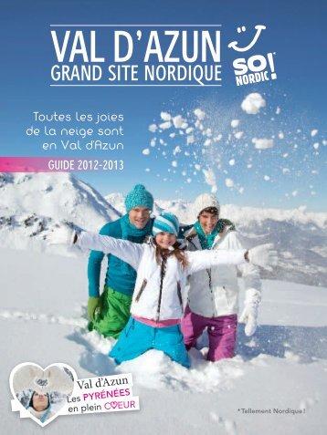"""nouveau guide """"Val d'Azun, grand site nordique"""""""