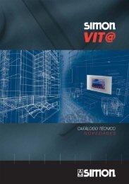 Catálogo técnico de VIT@ domótica: novedades - Simon