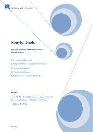 Nonylphénols - Environnement-Industrie
