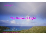 The Nature of Light - Solar Physics at MSU