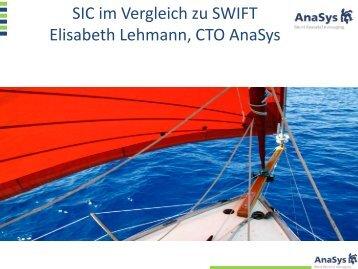SIC im Vergleich zu SWIFT