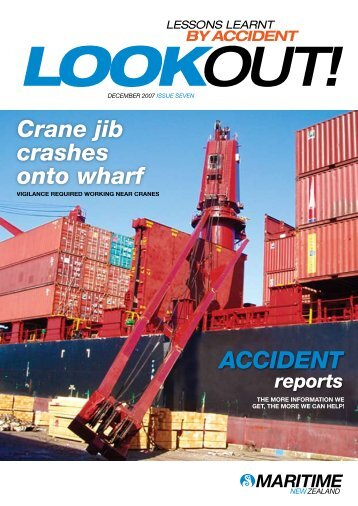 Issue 7, December 2007 - Maritime New Zealand