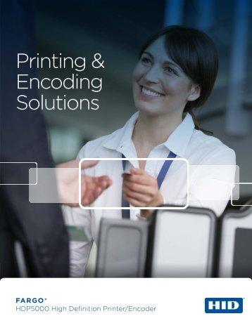 Fargo HDP5000 Brochure - 89013 | ID Wholesaler