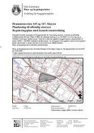 Drammensveien 145 og 147, Skøyen Planforslag til offentlig ettersyn ...