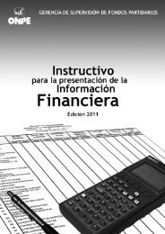 Instructivo para la presentación de la Información ... - ONPE