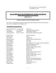 RTCA Paper No. 214-12/SC223-029 November 20, 2012 Special ...